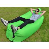 Quality 10 seconds Fast Inflatable Laybag Sleeping Bag , Outdoor Inflatable Toys Air for sale