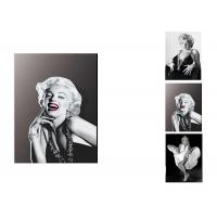 Wholesale Star Marilyn Monroe 3D Lenticular Flip With 3 Imges Changing Effect / MDF Frame from china suppliers