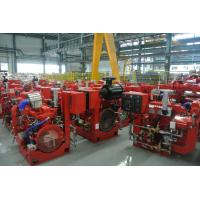 Wholesale Red Professional Fire Pump Diesel Engine 144KW With Water Cold Cooling from china suppliers