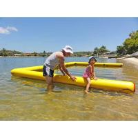 Wholesale Customized Swimming Pool Inflatable Air Mat Easy Carrying For Sea Water Fun from china suppliers