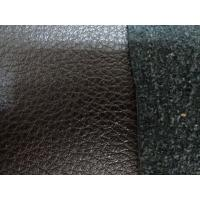 China Colorful PU Artifical Leather Good Abrasion Resistance PU Leather Cloth on sale