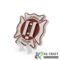 China A double side 3D logo coin for sale