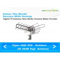 Wholesale Aluminum Alloy Wireless Digital TV Antenna , 36dBi FM VHF UHF Antenna Outdoor from china suppliers