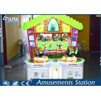 Luxury Appearance Shooting Arcade Machines With  Fresh Multi Color Design For Kids for sale