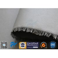 Wholesale 0.45mm PU Coated Fiberglass Fabric Cloth For Welding Spatter Sparks Protection from china suppliers