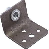 Wholesale Chair Bracket Furniture Fixing Brackets 4 Holes Iron Material With M6 Rivet Nut from china suppliers
