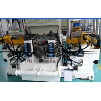 Buy cheap Rubber Silicone Flat Molding Vulcanizing Equipment 400 Ton 4 RT Dual Power Motor from wholesalers