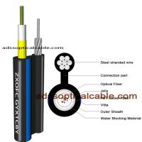 Wholesale Exterior Weatherproof Network Cable / Figure 8 Utp Cat6 Fiber Optic Cable from china suppliers