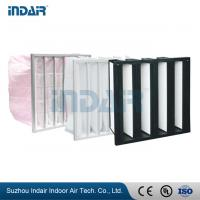 Wholesale Leak Proof Industrial HEPA Filter , High Performance Air Filter For Heating System from china suppliers