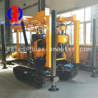 Wholesale 130m tracked mobile water well drilling machine/crawler mounted portable water well  drilling rig from china suppliers