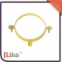China High Temperature Cast Iron Pipe Clamps 4 Points Welded For Fastening on sale