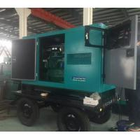 Wholesale 30kw Soundproof Cummins diesel generator  37.5 kva generator with trailer  three phase  fast delivery from china suppliers