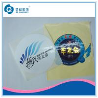 Wholesale Die Cut Letterpress Printed Self Adhesive Labels , Laminated Labels from china suppliers