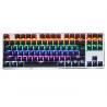 Wholesale Rainbow Gaming Keyboard 87Keys For Gaming Fancier , Led Gaming Keyboard from china suppliers