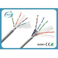 100% Copper Conductor FTP Cat6 Lan Cable 4 Pairs Low Resistance Data Transmission Cabling