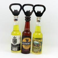 China Shinny Gifts Promo Gifts Bottle Opener with Fridge Magnet Sticker on sale