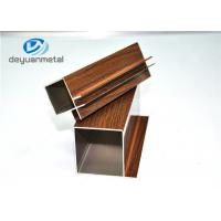 Wholesale Wood Grain / Mill Finished Aluminum Extrusion Profile For Decoration , Alloy 6063-T5 from china suppliers