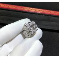 Wholesale Magnificent 18K Gold Diamond Ring , Personalized Bulgari Snake Ring AN855116 from china suppliers