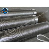"Wholesale 8"" Johnson Wire Screen Sand Control Screens For Oil Filtration / Paper Making from china suppliers"