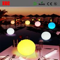 China Waterproof LED Light Ball For Party, Hotel Decoration/Battery Waterproof  Plastic LED Glowing Decoration Light Up Balls on sale