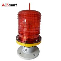 Buy cheap 15W Red LED Obstruction Beacon Lights Signal Flashing Aviation Lamp GZ-122LED for Chimney High Building Tower from wholesalers