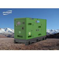 Auto Start Industrial Diesel Generators High Efficiency 350L Fuel Tank for sale
