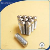 Wholesale Zinc Plated Arc Welding Stud / Drawn Arc Stud Welding Carbon Steel from china suppliers