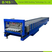 Wholesale Stable Corrugated Roof Sheet Making Machine , Roof Panel Roll Forming Machine from china suppliers