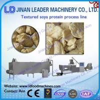 Wholesale Automatic textured tvp tsp soya bean protein food machine snacks from china suppliers