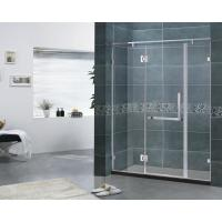Customized Three Side FramelessHingedShowerDoor 6MM Clear Glass CE Certification for sale