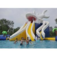 Wholesale Commercial Giant Shark Blow Up Kid Pool With Fun Inflatable Pool Toys from china suppliers