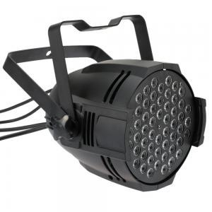 DMX512 Sound Activated 8 DMX Channels RGBW Color Changing 54x3W LED Par 64 Light for Disco KTV Club Party