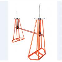 Buy cheap Power Construction Tools Simple Reel Payout Stand 1- 5ton Mechanical Cable Stand from wholesalers