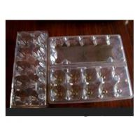 Wholesale 10 Cavities Clear Plastic Egg Cartons , Disposable Food Containers from china suppliers
