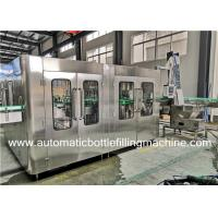 Buy cheap Automatic Glass Bottle Carbonated Soft Drink Filling Machine / Production Line from wholesalers