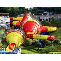 Wholesale Ashland / DSM Resin Fiberglass Water Slide Tantrum Valley Water Park Rides 16m from china suppliers