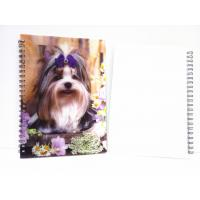 Wholesale Flip A4 , A5 , A6 Size 3D Lenticular Notebook Cover For Wrinting from china suppliers