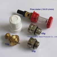 China Replacement Flow Meter For Heating Stainless Steel Manifold , Manifold Flow Meter Valve for sale