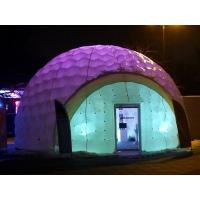 Wholesale Costomized Outdoor Inflatable Tent With Led Lighting / Printing Inflatable Booth Dome from china suppliers