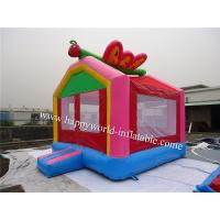 China butterfly mini bouncy castle , air bouncer inflatable trampoline , bouncer castle house on sale