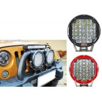 Wholesale 96W Red Black Housing LED Driving Lights For Offroad And Truck 4x4 Waterproof Round led Work Light from china suppliers