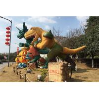 China Park Ornamental Custom Fiberglass Products Marvel Character FRP Dinosaur on sale