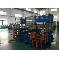 Buy cheap Efficient Rubber Plate Vulcanizing Machine ,  200 Or 400 Ton Hand Manual Molding Machine from wholesalers