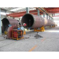 China 40 T Automatic Self Adjustment Pipe Welding Rollers With Foot Pedal for sale