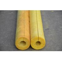 Wholesale 80 kg/m3 Glass Wool Air Conditioner Pipe Insulation , Non Combustible OEM from china suppliers