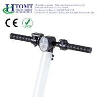 Wholesale HTOMT two wheel electric scooter personal transportation foldable electric scooter UL2272 from china suppliers