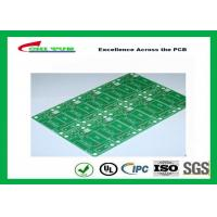 Wholesale Tamura Matte Green Single Sided PCB   1L FR4 1.6mm Immersion Gold PCB from china suppliers