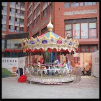 Charming & Professional outdoor carousel merry go round horse for sale for sale