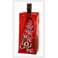 Wholesale pvc wine bag with handle for packing ,logo print from china suppliers