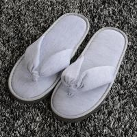 Buy cheap Logo Customized Open Toe Hotel Slippers , Comfortable Hotel Bathroom Slippers from wholesalers